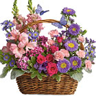 Country Basket of Blooms