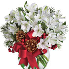 Let It Snow Flowers Bouquet