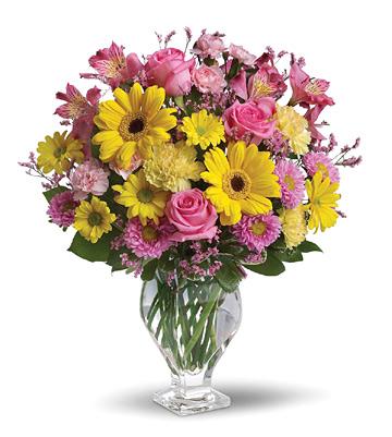 1-800-FLORALS coupon: Teleflora® Dazzling Day Bouquet