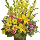 Vivid Recollections Sympathy Basket