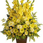 Teleflora� Sunny Memories Floral Tribute