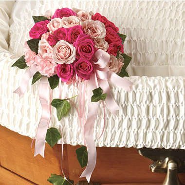 Rose Reflection Casket Accent