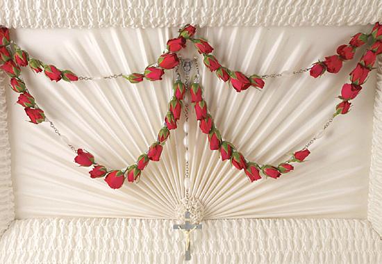 Funeral Flowers - Petite Red Roses - 100.7KB