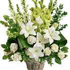 Teleflora� Clouds Of Heaven Bouquet