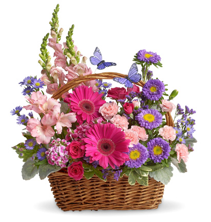Basket of Blooms Deluxe