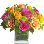 Teleflora� Color Me Rosy Bouquet