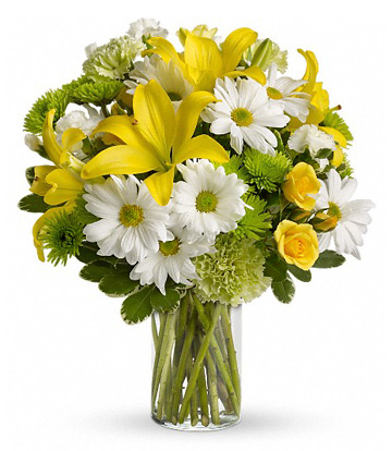 Morning Bright Flowers Bouquet