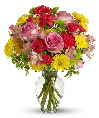 INOpets.com Anything for Pets Parents & Their Pets Garden Walk Flowers Bouquet