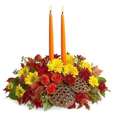 Harvest Glow Fall Centerpiece