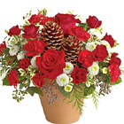 Winter's Gift Flowers Bouquet