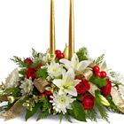 Golden Gathering Holiday Centerpiece