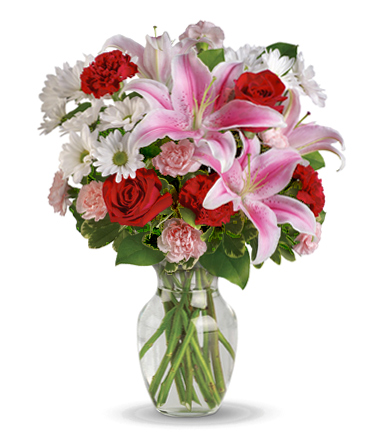 INOpets.com Anything for Pets Parents & Their Pets Love's Rush Flowers Vase