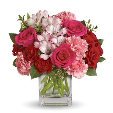 INOpets.com Anything for Pets Parents & Their Pets Pink Passion Flowers Bouquet