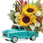 Teleflora® Chevy Pickup Bouquet