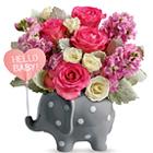 Teleflora� Hello Sweet Baby - Pink