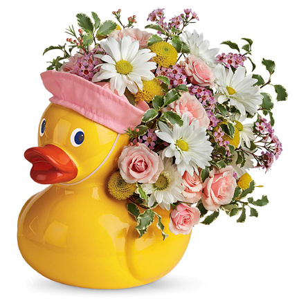 Teleflora� Sweet Little Ducky Bouquet