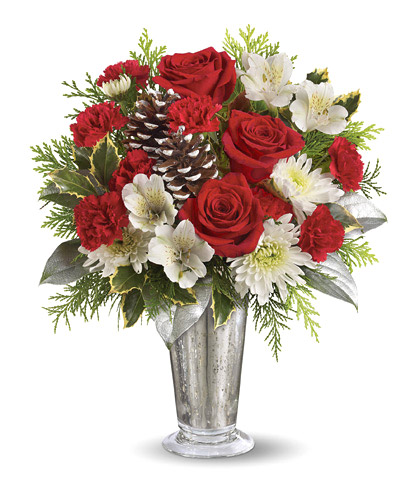 Teleflora� Timeless Cheer Bouquet