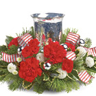 Teleflora� Holly Jolly Centerpiece