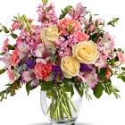 Pretty Pastel Flowers Bouquet Premium