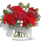 Silver Lining Holiday Bouquet