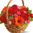 Heart Warmer Flowers Basket