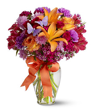 Butterfly Blooms Bouquet
