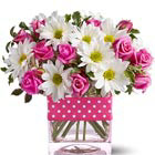 Daisies and Rose Buds Bouquet