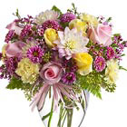 Soft and Beautiful Flowers Vase