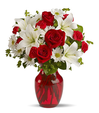 Be My Love Flowers Bouquet at 1-800-FLORALS Florists