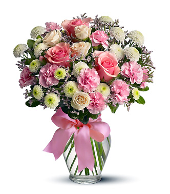 Cotton candy flowers bouquet tw510