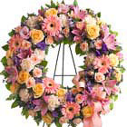 Graceful Funeral Wreath