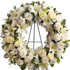 Serenity Funeral Flowers Wreath