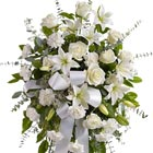 Serenity Sympathy Flowers Spray
