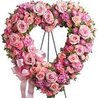 Rose Garden Standing Heart