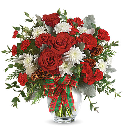 - Holiday Shine Bouquet