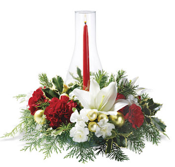 Luminous Holidays Christmas Centerpiece
