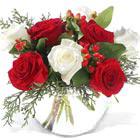 Christmas Roses Bowl