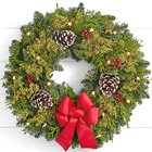 Deck the Halls 22-Inch Wreath