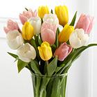 Sunset Escape Tulip Bouquet with Vase