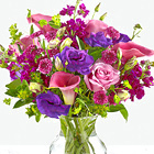 Love Out Loud Bouquet with Vase