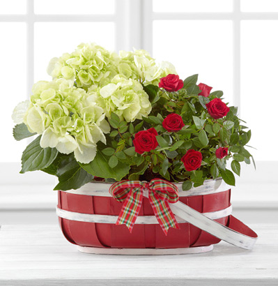 - FTD® Heart-Filled Holidays Basket