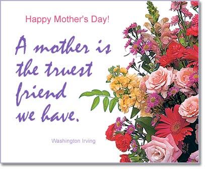 Mom A True Friend Virtual Mothers Day EGift